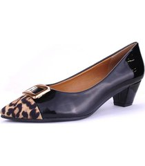zapato panobe negro chalada