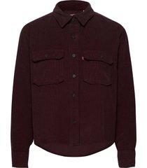 olsen utility shirt gd malbec overhemd met lange mouwen rood levi´s women
