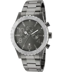 reloj invicta 15164 gris acero inoxidable