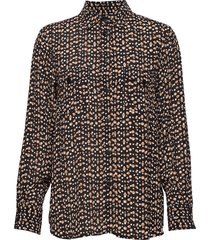 tally sh blouse lange mouwen bruin part two
