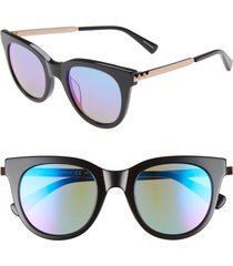 women's rebecca minkoff stevie 49mm round sunglasses -