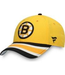 authentic nhl headwear boston bruins special edition adjustable cap