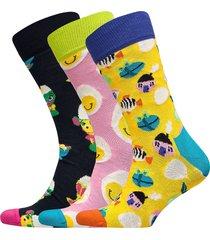 easter gift box underwear socks regular socks multi/mönstrad happy socks