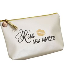 lillian rose kiss and makeup cosmetic bag