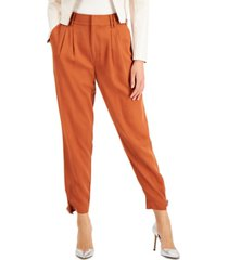 bar iii pleated utility pants, created for macy's