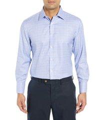 men's english laundry regular fit plaid dress shirt