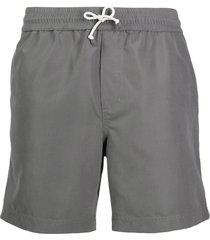 brunello cucinelli drawstring swim shorts - grey