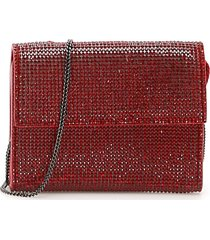 marco de vincenzo crystal wallet with chain