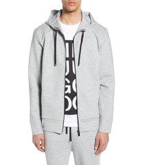 men's hugo dantony oversize zip hoodie