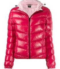 colmar lacquered-effect winter down jacket