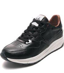 tenis lifestyle negro-blanco piña colada