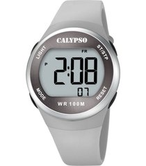 reloj color run gris calypso