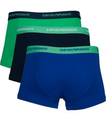 armani short ea 3-pak groen-blue-marine