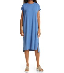 eileen fisher crewneck t-shirt dress, size x-large in coast at nordstrom
