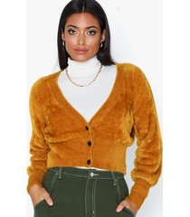 object collectors item objcasra l/s knit short cardigan 10 stickade tröjor
