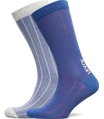 levis regular cut vertical birdseye underwear socks regular socks blå levi´s