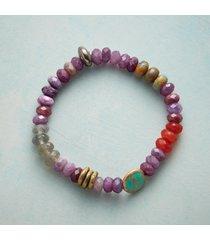 saffron & sage stretch bracelet