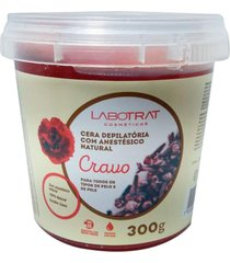 cera depilatoria anestes natural de cravo 300g labotrat