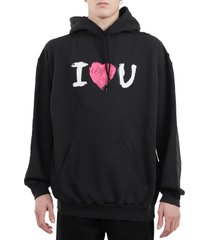 balenciaga black ilu hoodie
