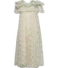 angel dress knälång klänning beige ida sjöstedt