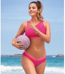 hunkemöller hkmx bikiniunderdel rosa