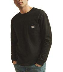 guess men's originals kit long sleeve t-shirt