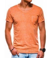 ombre heren t-shirt s1051 oranje -