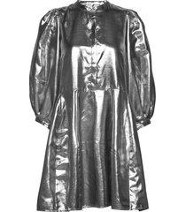 silvana dress jurk knielengte zilver just female