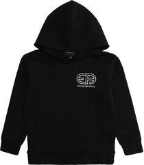 emporio armani cotton hoodie
