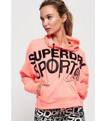superdry active batwing hoodie