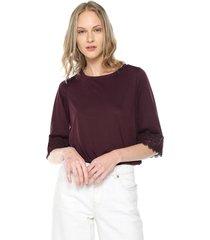 blusa morado vero moda