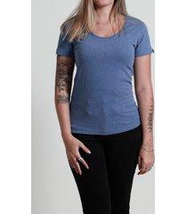 camiseta básica azul maresia