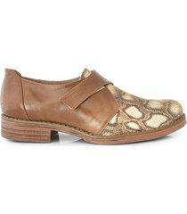 zapato marrón briganti mujer sava
