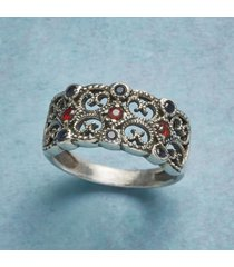 baroque lace ring