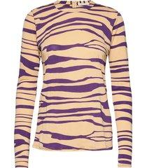 agnia blouse lange mouwen multi/patroon rabens sal r