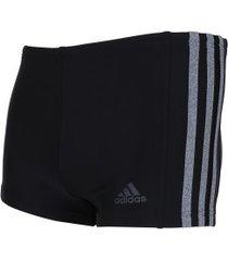 sunga boxer adidas infinitex ec3s bx - adulto - preto/cinza esc