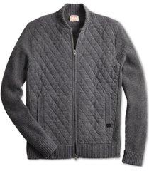 brooks brothers men's bomber sweater