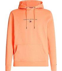 hoodie essential koraal