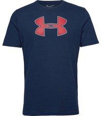 ua big logo ss t-shirts short-sleeved blå under armour