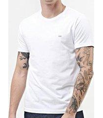 camiseta lee malha penteada 5100l manga curta masculina - masculino