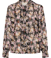 ganjapw sh blouse lange mouwen roze part two