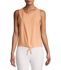 knotted mesh top