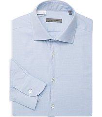 micro dot dress shirt