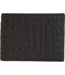 men's boss crosstown rfid leather wallet -
