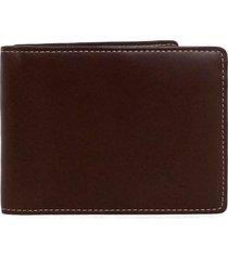 men's boconi bryant cash fold wallet - brown