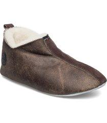 henrik slippers tofflor brun shepherd