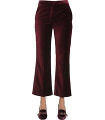 stella mccartney velvet trousers