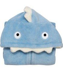pijama fantasia beb㪠3-6 meses flannel  camesa azul escuro - multicolorido - dafiti