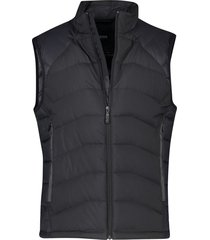 bodywarmer hugo boss zwart big & tall