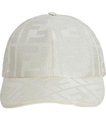 tonal logo print baseball cap